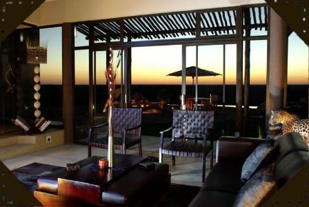 Afrika Weisheiten Otjiwa Safari Lodge Wohnzimmer